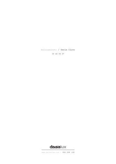 Balizamiento / Serie Clavo
