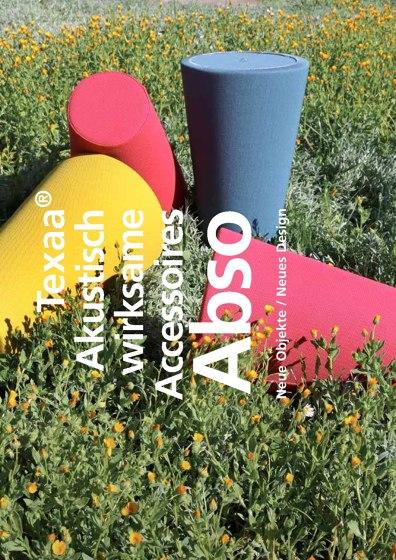 Akustisch wirksame Accessoires Abso