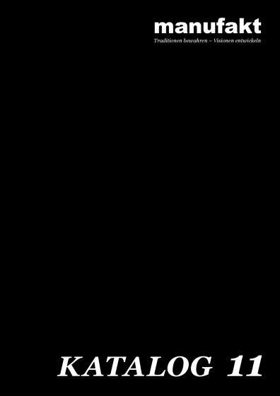 Manufakt Katalog 2019