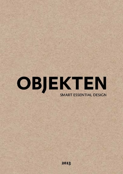 Objekten - Smart Essential Design 2013