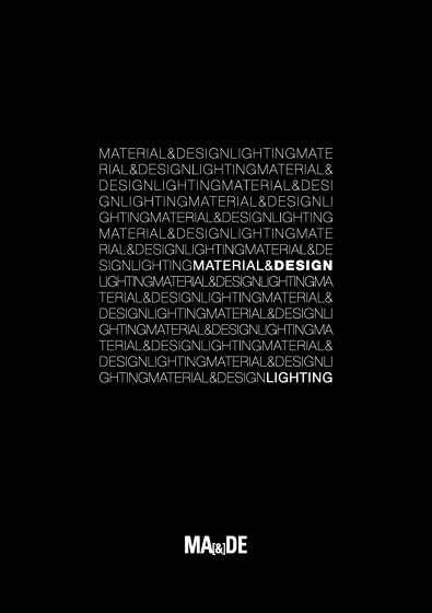 Material & Design Lighting 2017