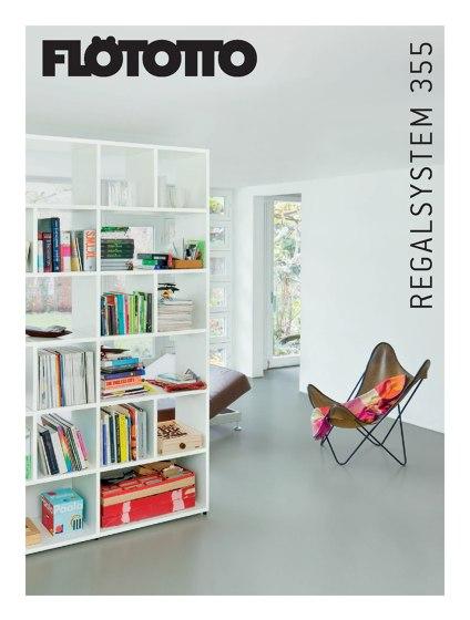 FLÖTOTTO Katalog Regalsystem 355
