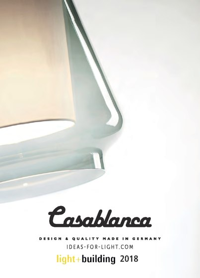 Casablanca light&building 2018