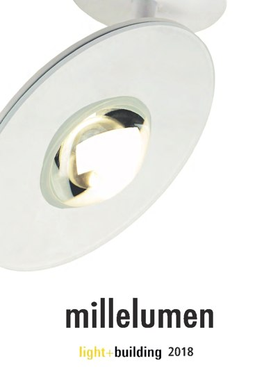 millelumen light&building 2018