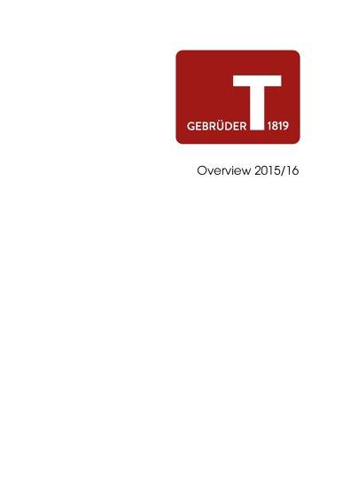 Gebrüder T Overview 2015/16
