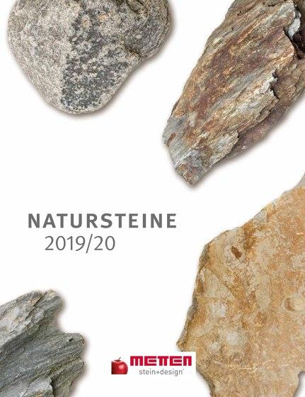 Natursteine 2019/20