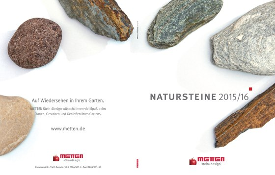 Natursteine 2015 / 2016