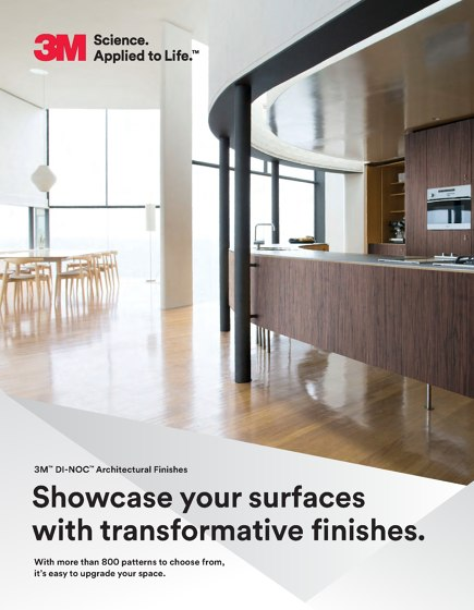 3M™ DI-NOC™ Architectural Finishes  Brochure