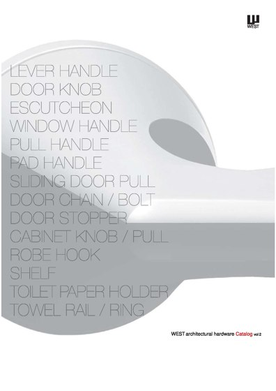 Architectural Hardware Catalog Vol.2