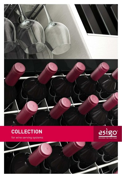COLLECTION for wine serving systems