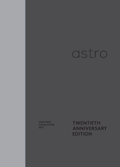 Astro Lighting Catalogue 2017 - Interior Lighting