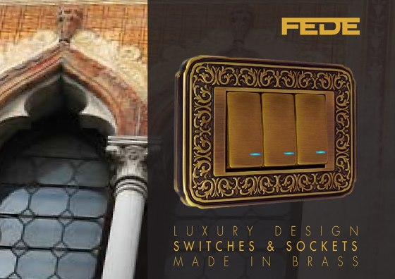 Luxury Design | Switches & Sockets 2019