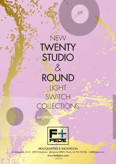 NEW TWENTY STUDIO & ROUND LIGHT SWITCH COLLECTIONS (ru, ar, zh)