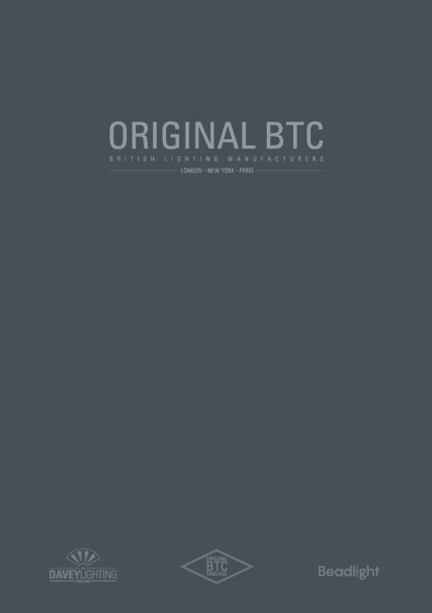 Original BTC Catalogue 2018