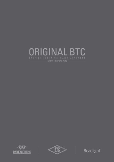 Original BTC Catalogue 2017 USA