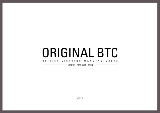 Original BTC New Products 2017