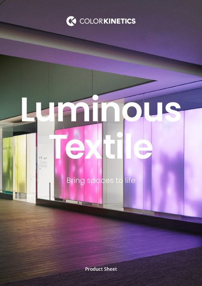 Luminous Textile