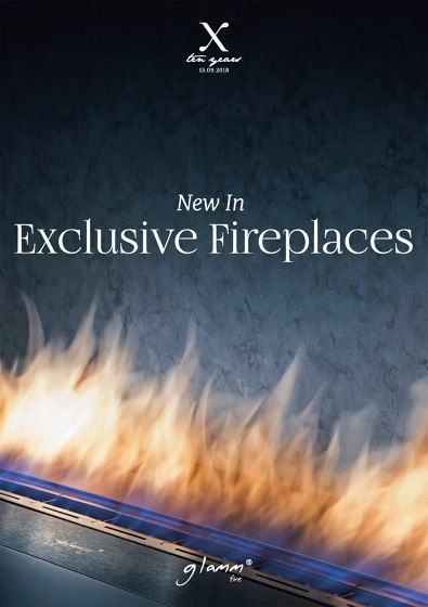 NEW IN EXCLUSIVE FIREPLACES