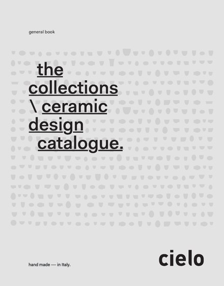 the collections  ∕ ceramic design catalogue.