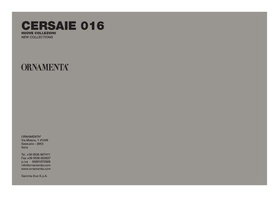 Cersaie Catalogo 2016