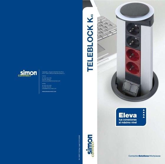 Simon Teleblock Catálogo