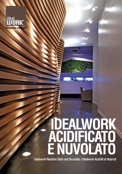 Idealwork Reactive Stain and Nuvolato