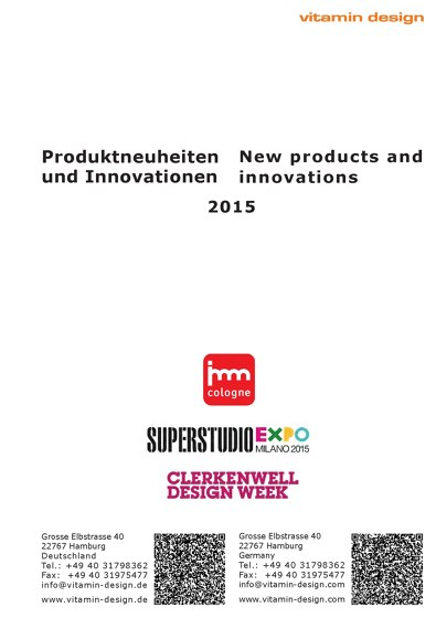 New Products and Innovations 2015