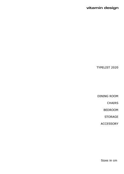 Typelist 2020 (cm)