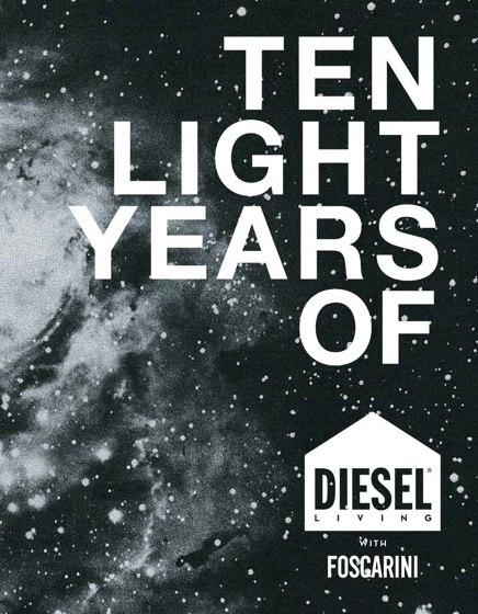Ten light years of Diesel with Foscarini