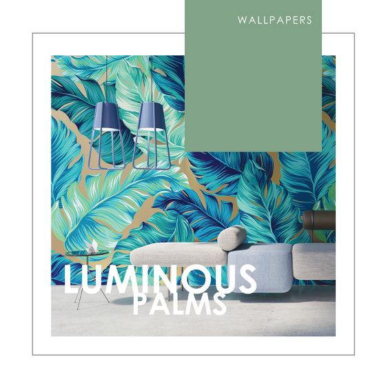 WALLPAPERS | LUMINOUS PALMS