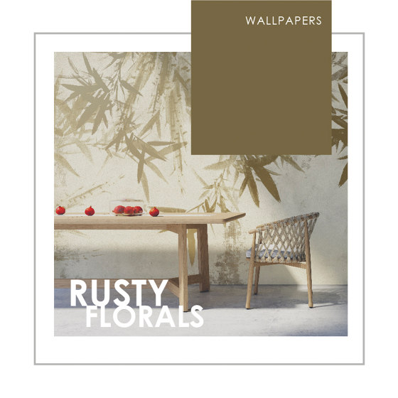 WALLPAPERS | RUSTY FLORALS