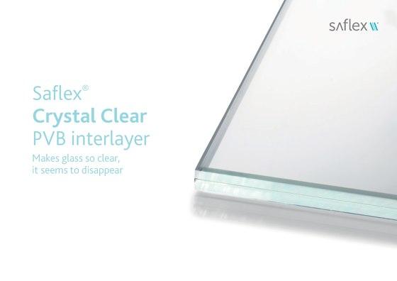 Saflex Crystal Clyar PVB interlayer