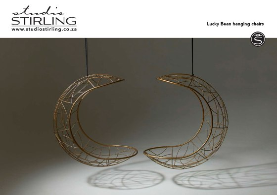 Lucky Bean hanging chairs