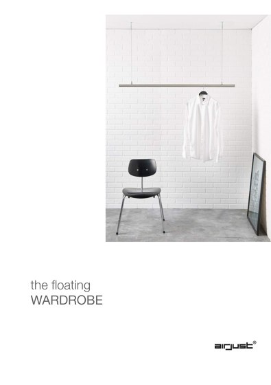 airjust home | the floating wardrobe