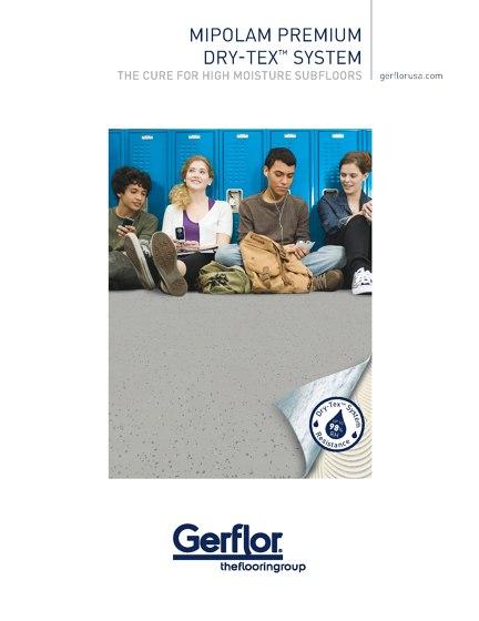 Gerflor Mipolam premium Dry-Tex System