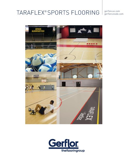 Gerflor Taraflex Sports Flooring 2014