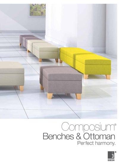 Composium Benches / Ottoman
