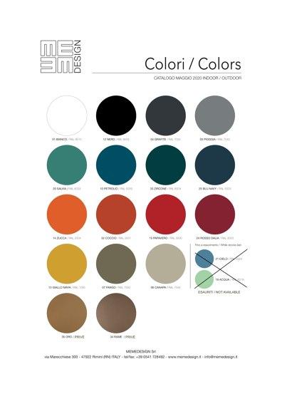 Cartella Colori e Materiali