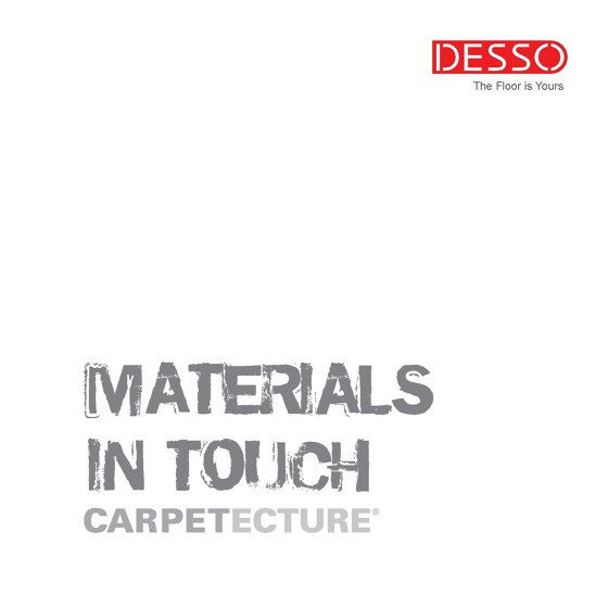 Materials In Touch - Carpetecture