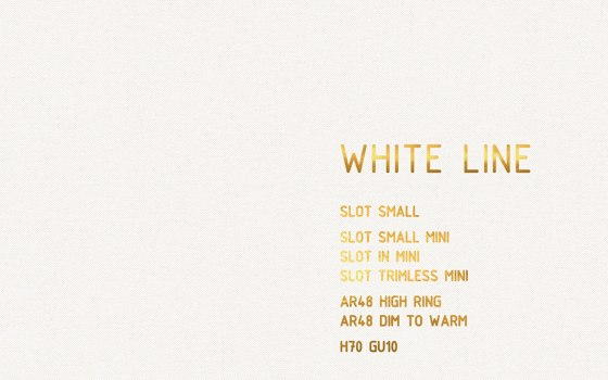 WHITE LINE Collection