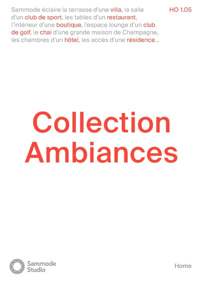 Collection Ambiances
