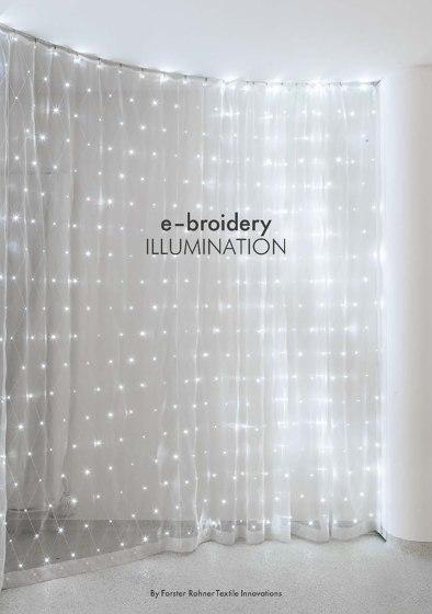 e-broidery Illlumination