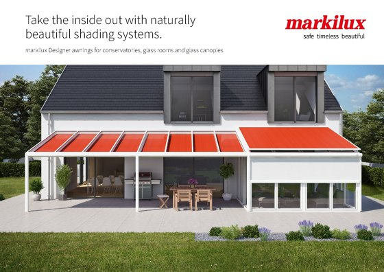 awnings for glass roofs