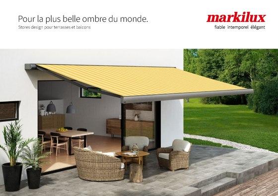 Stores pour terrasses et balcons