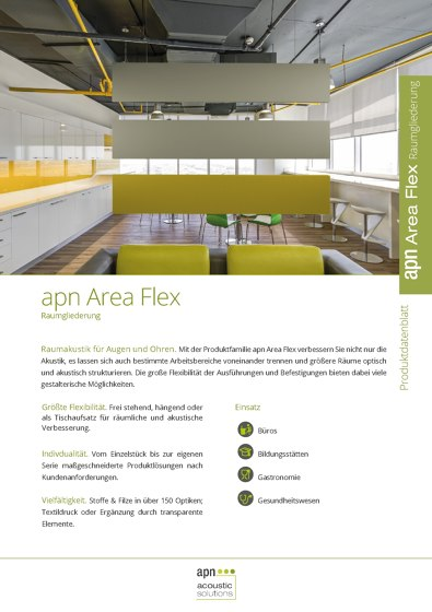 apn Area Flex Raumgliederung