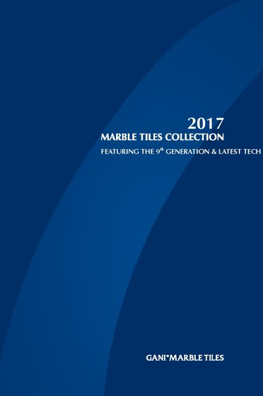 MARBLE TILES COLLECTION 2017