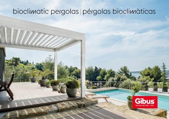 Bioclimatic pergolas
