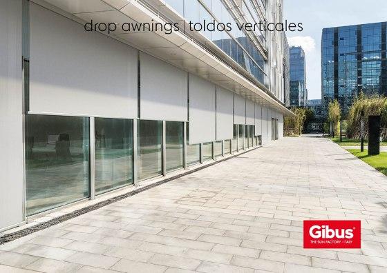 drop awnings | toldos verticales