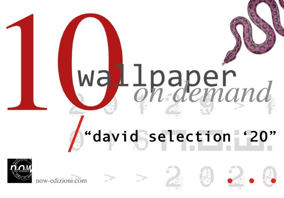 "WALLPAPER ON DEMAND ""DAVID SELECTION '20"""