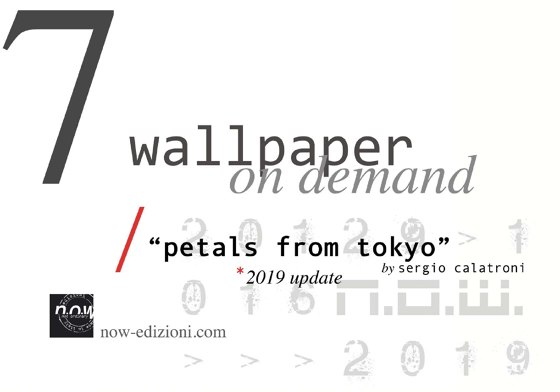 "Wallpaper On Demand ""petals from tokyo"""